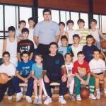 1992. Prva generacija košarkaša kluba (1981 godište)