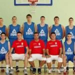 Kadetska reprezentacija Srbije Aleksandar Ilkić i Milan Sokić